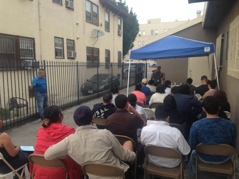 """DACA and DAPA"" Workshop  FIOB, ORO and LACLC Community Organizations"